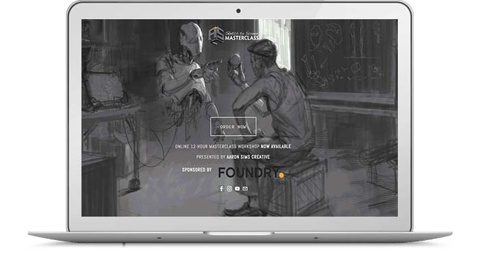 sketch-to-screen-masterclass-website